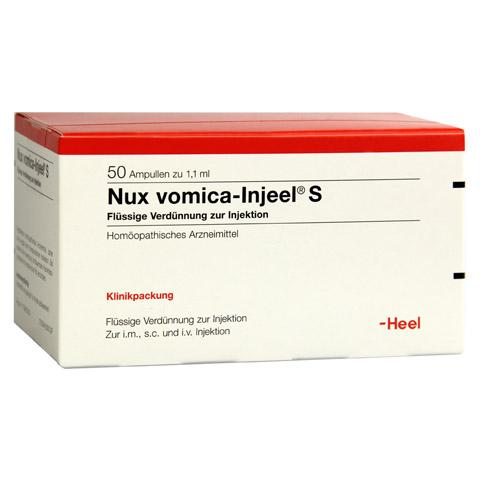 NUX VOMICA INJEEL S Ampullen 50 Stück N2