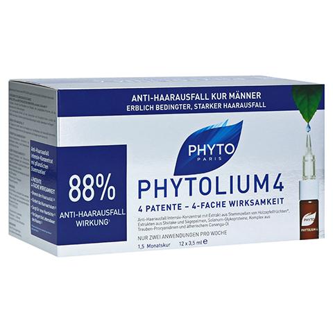 PHYTOLIUM 4 Anti-Haarausfall Kur Ampullen 12x3.5 Milliliter