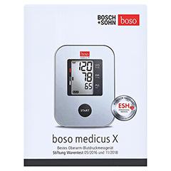 BOSO Medicus X vollautomatisches Oberarm Blutdruckmessgerät 1 Stück - Vorderseite