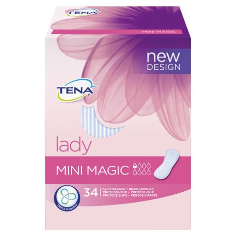 TENA LADY mini magic Einlagen 6x34 Stück