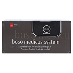 BOSO medicus system wireless Blutdruckmessgerät 1 Stück - Oberseite