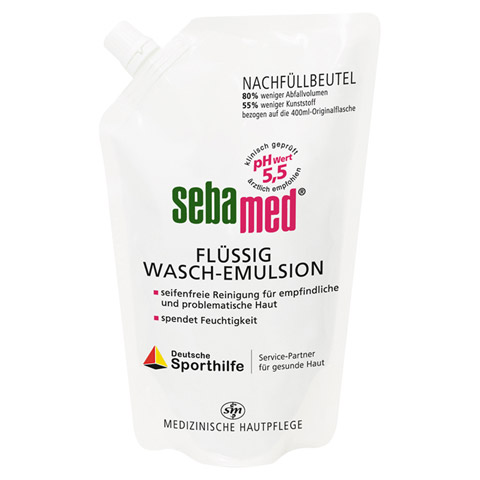 SEBAMED flüssig Waschemulsion Nachf.Pckg. 400 Milliliter