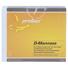 PROSAN D-Mannose Pulver 30 Stück - Vorderseite