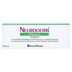 NEURODERM Pflegecreme 100 Milliliter - Rückseite