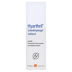 HYARTHRIL Gelenkhydrogel kühlend im Spender 150 Milliliter - Vorderseite