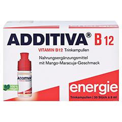 ADDITIVA Vitamin B12 Trinkampullen 30x8 Milliliter - Vorderseite