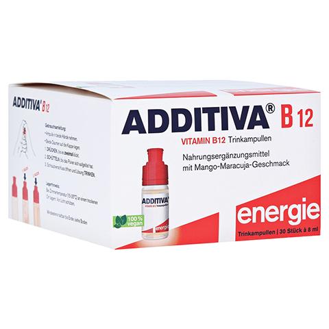ADDITIVA Vitamin B12 Trinkampullen 30x8 Milliliter