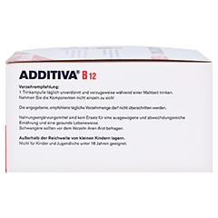 ADDITIVA Vitamin B12 Trinkampullen 30x8 Milliliter - Rechte Seite