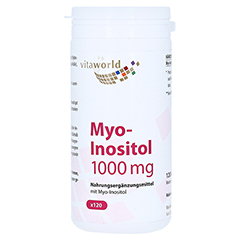 MYO-INOSITOL 1000 mg Kapseln 120 Stück