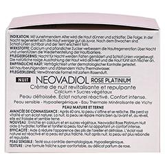 Vichy Neovadiol Rose Platinium Nachtpflege + gratis VICHY Neovadiol Rose 15 ml 50 Milliliter - Rechte Seite