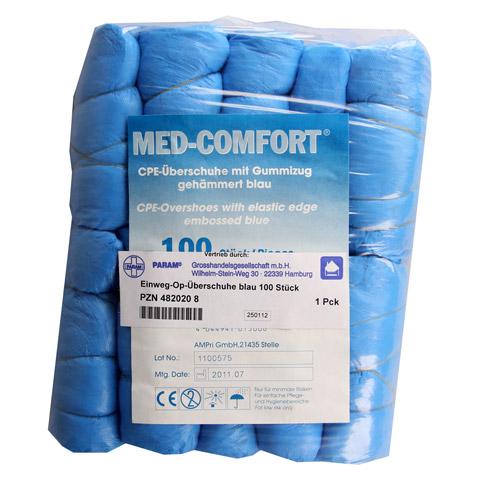 EINMAL OP Überschuhe blau 100 Stück