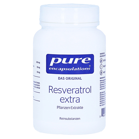 PURE ENCAPSULATIONS Resveratrol Extra Kapseln 60 Stück