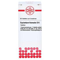 EQUISETUM HIEMALE D 6 Tabletten 80 Stück N1 - Vorderseite