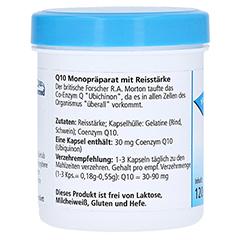 Q10 ORIGINAL 30 mg Gerimed mit Reisstärke Kapseln 120 Stück - Rechte Seite