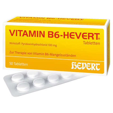 VITAMIN B6 Hevert Tabletten 50 Stück N2