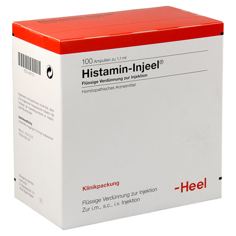 HISTAMIN Injeel Ampullen 100 Stück N3