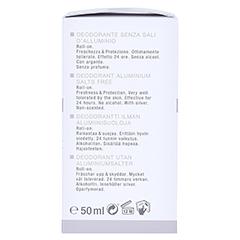 WIDMER Deodorant o.Aluminium-Salze Stick unparf. 50 Milliliter - Linke Seite