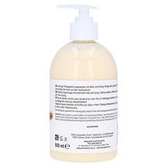 EVA NATURA Flüssigseife Milch Honig 500 Milliliter - Linke Seite