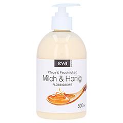 EVA NATURA Flüssigseife Milch Honig 500 Milliliter