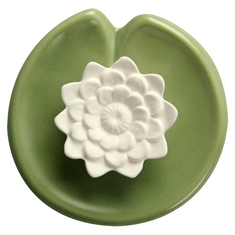 erfahrungen zu duftstein seerose teller keramik 1 st ck medpex versandapotheke. Black Bedroom Furniture Sets. Home Design Ideas