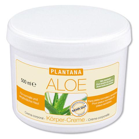 PLANTANA Aloe Vera Körper Creme 500 Milliliter