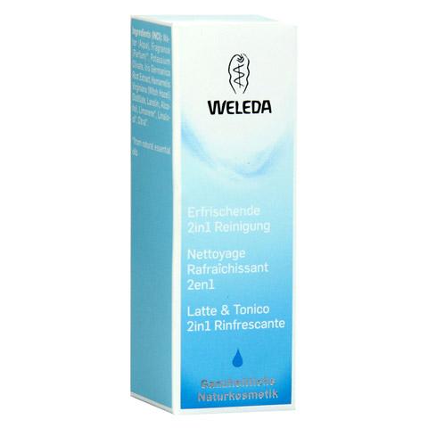 WELEDA 2in1 erfrischende Reinigung Milch 10 Milliliter