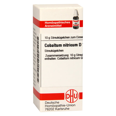 COBALTUM NITRICUM D 12 Globuli 10 Gramm N1