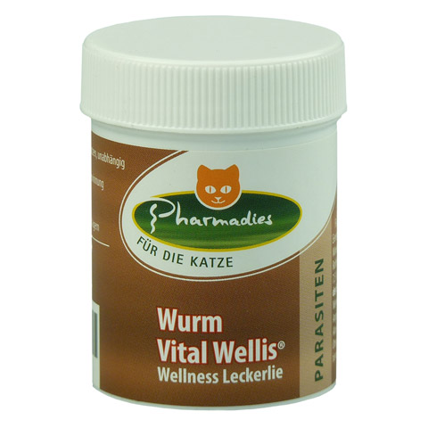 pharmadies wurm vital wellis katze 20 gramm online. Black Bedroom Furniture Sets. Home Design Ideas