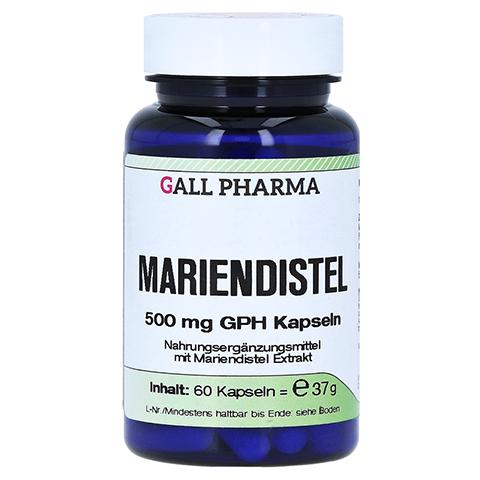 MARIENDISTEL 500 mg GPH Kapseln 60 Stück