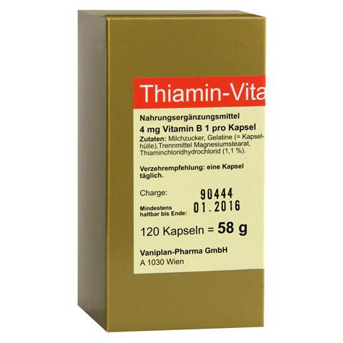 THIAMIN Kapseln Vitamin B1 120 Stück