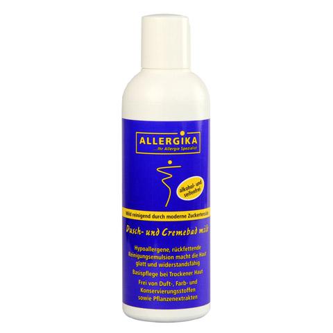 ALLERGIKA Dusch- und Cremebad mild 200 Milliliter