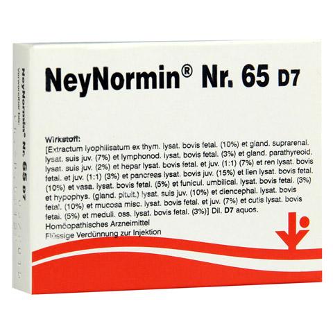NEYNORMIN Nr.65 D 7 Ampullen 5x2 Milliliter N1