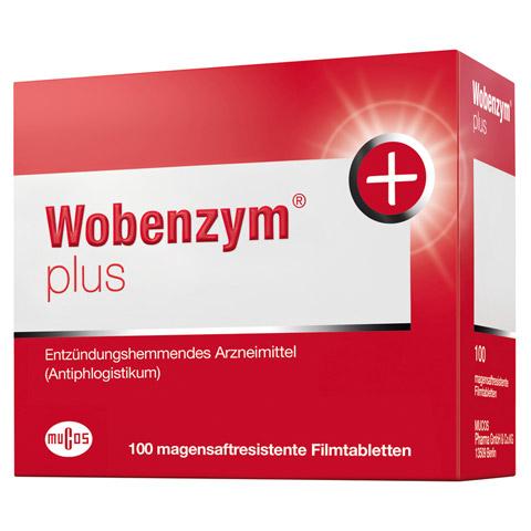 WOBENZYM Plus magensaftresistente Tabletten 100 Stück