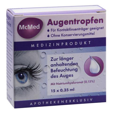 MCMED Augentropfen Einzeldosispipetten 15x0.35 Milliliter