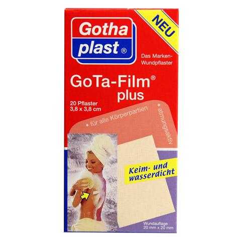 GOTA FILM plus 3,8x3,8 cm Pflaster 20 Stück