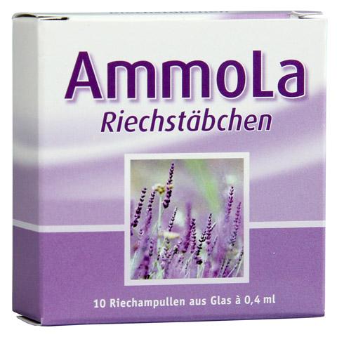 Ammola Riechstäbchen Riechampullen 10x0.4 Milliliter