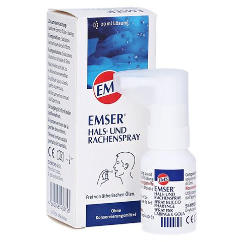 EMSER Hals- und Rachenspray 20 Milliliter