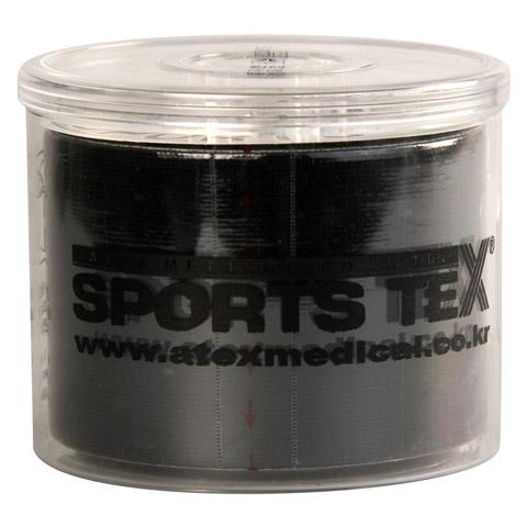 SPORTS TEX Kinesiologie Tape 5 cmx5 m schwarz 1 Stück