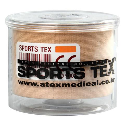 SPORTS TEX Kinesiologie Tape 5 cmx5 m beige 1 Stück