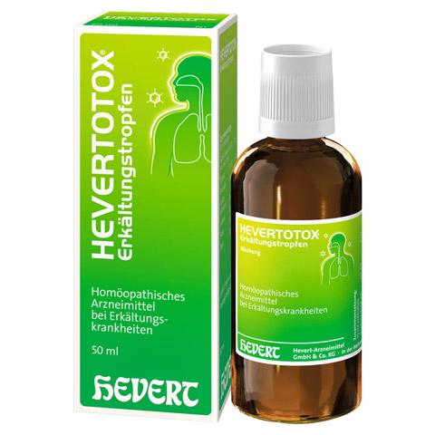 HEVERTOTOX Erkältungstropfen 50 Milliliter N1
