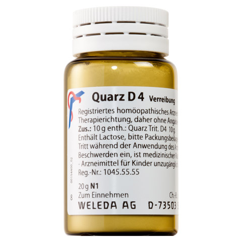 QUARZ D 4 Trituration 20 Gramm N1