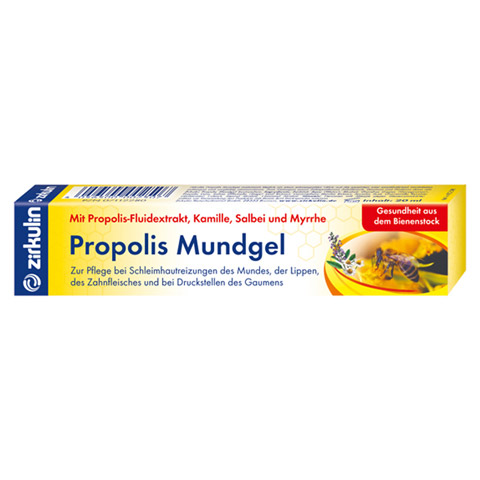 ZIRKULIN Propolis Mundgel 20 Milliliter