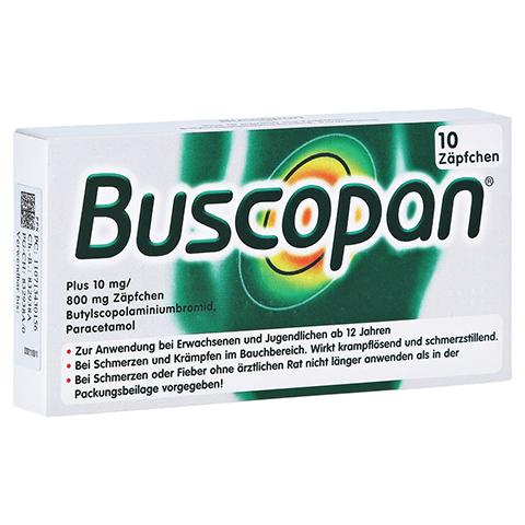 Buscopan plus 10mg/800mg 10 Stück N1