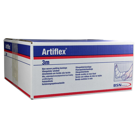 ARTIFLEX Polsterbinde 10 cmx3 m synth.Fasern 30 Stück
