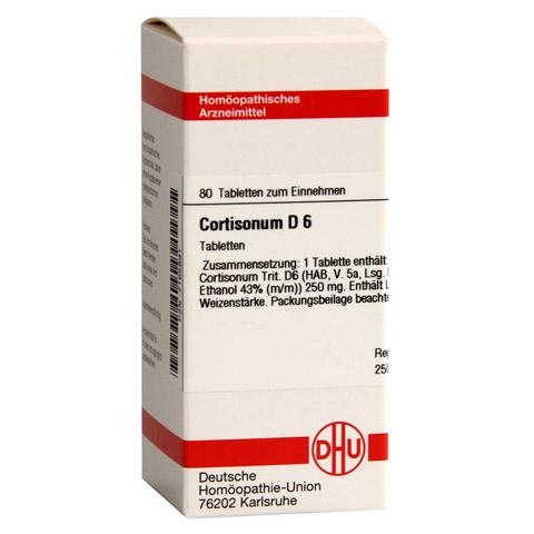 CORTISONUM D 6 Tabletten 80 Stück N1