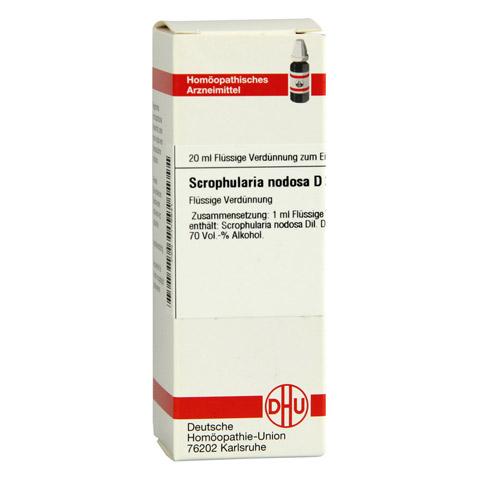 SCROPHULARIA NODOSA D 2 Dilution 20 Milliliter N1