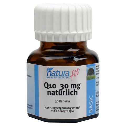 NATURAFIT Q10 30 mg Kapseln 30 Stück