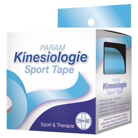 KINESIOLOGIE Sport Tape 5 cmx5 m blau 1 Stück