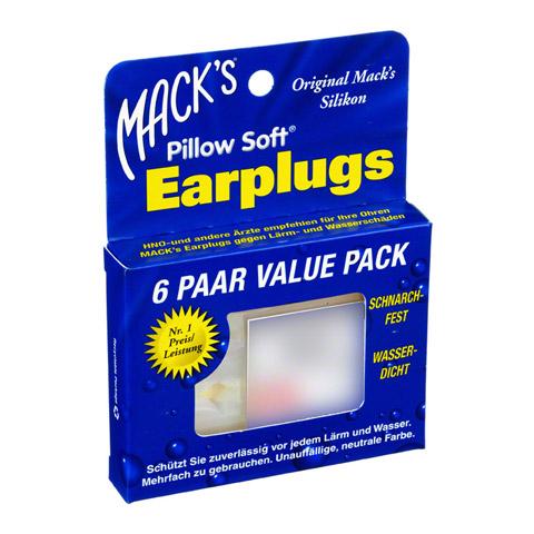MACKS Earplugs 6x2 Stück