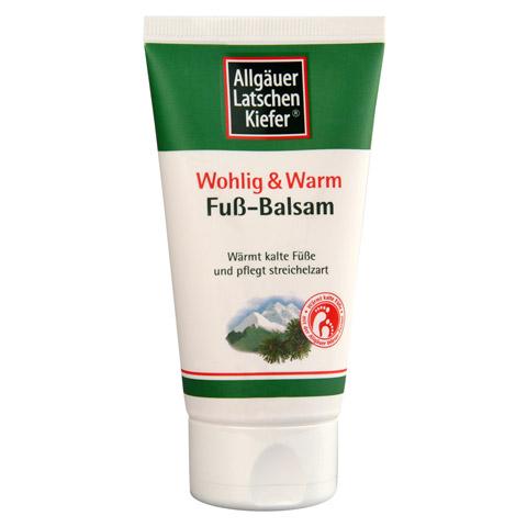 ALLGÄUER LATSCHENK. Fuß Balsam wohlig & warm 75 Milliliter